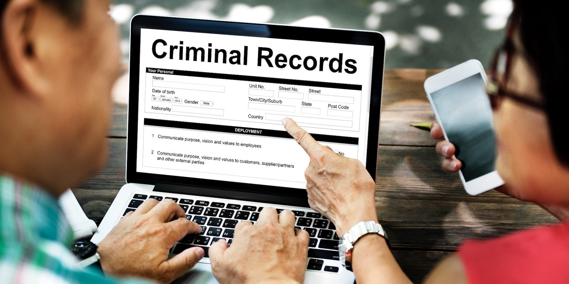 (2) Criminal history record information and intelligence/investigative and treatment information